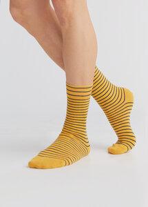 """3 Paar Ringel Strümpfe Bio-Baumwolle Socken geringelt gestreift 2308 """"ALBERO"""" - Albero"""