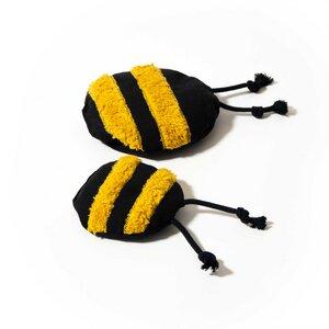 Hundespielzeug Biene Billy mit Kautschukdinkelspelz - Mike Mousehair