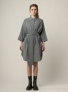 Damen Hemdkleid CHARU aus Bio-Baumwolle - GOTS zertifiziert - MELAWEAR