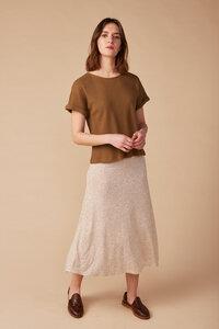 Shirt für Damen, kurzarm - Maelys - Lana natural wear