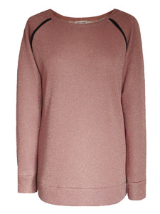 SPARKLE Sweatshirt - berry - woodlike