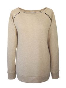 SPARKLE Sweatshirt - beige - woodlike