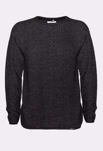 JAPAN REDUCED Merino Strick-Sweater - Rotholz