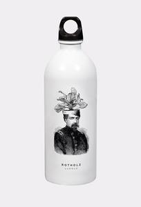 POT HEAD Trinkflasche - Rotholz