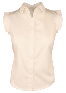 Elegante Bio-Satin-Bluse - anzüglich organic & fair