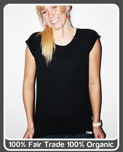 Stylisches fairgehandeltes Frauen T-Shirt - TRUSTED - Trusted Fair Trade Clothing