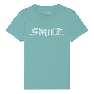 BWG Kinder T-shirt SMILE - Blackwhitegrey