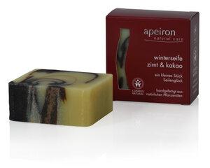 Apeiron Winterseife Zimt & Kakao - Apeiron Natural Care