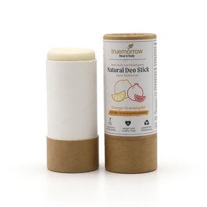 truemorrow festes Deodorant mit Orange-Granatapfel Duft (ohne Aluminium) - truemorrow