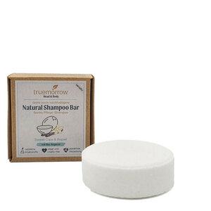 truemorrow Natural Shampoo Bar - Festes Shampoo mit Bio-Arganöl und Jojobaöl - truemorrow