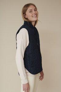 Steppweste - Louisa Short Vest - Basic Apparel