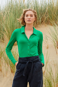 Viskosebluse für Damen - Elle - Lana natural wear