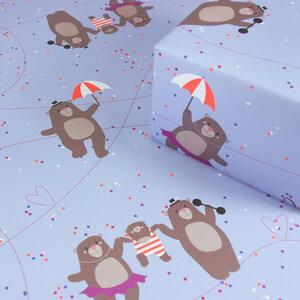 Geschenkpapier Circus Bears - Bow & Hummingbird