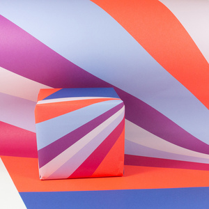 Geschenkpapier Zirkuszelt - Bow & Hummingbird