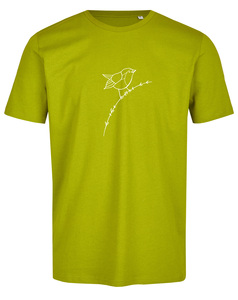 Basic Bio T-Shirt (men) Nr.3 Rotkehlchen - Brandless