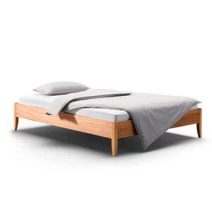 Massivholz Bett Bettgestell SANJA - Holzmanufaktur