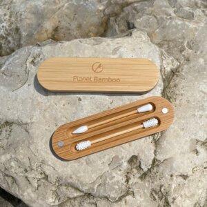 Wiederverwendbare Wattestäbchen für die Ohren und Augen Make Up - Planet Bamboo