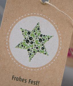 Karten-Set und Anhänger-Set - RC-Weihnachtskarten und Geschenkanhänger