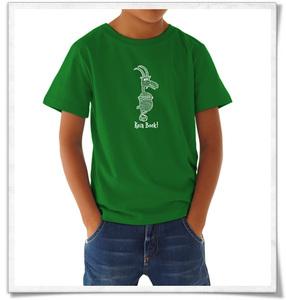 Kein Bock ! T-Shirt in Grün & Weiß für Kinder und Jugendliche - Picopoc