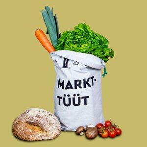 Obstbeutel Gemüsebeutel / hält frisch mit Inlay / plastikfrei - umtüten
