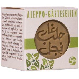 Aleppo-Gästeseifen,  5x20g - Jislaine Naturkosmetik