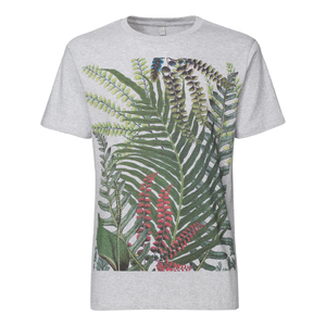 ThokkThokk Jungle Herren T-Shirt melange grey - THOKKTHOKK