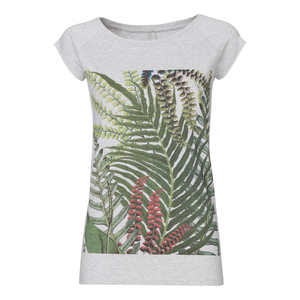 ThokkThokk Jungle Cap Sleeve Damen T-Shirt melange - ThokkThokk