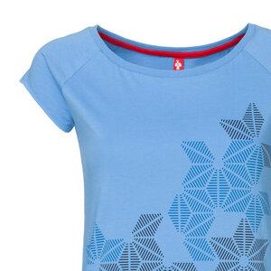 ThokkThokk Stars Cap Sleeve Damen T-Shirt Marina - THOKKTHOKK