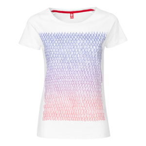 ThokkThokk Feathertrees Supercut  Woman T-Shirt White - THOKKTHOKK