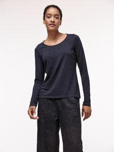Langarmshirt aus Hanf mit Bio-Baumwolle - LANIUS