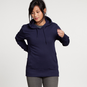 Fashion Hoodie Woman Navy - EarthPositive