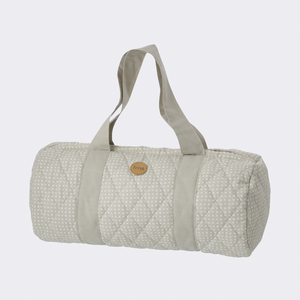 Grey Cross Duffel Bag - ferm LIVING