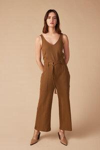 Jumpsuit für Damen - Prune - Lana natural wear