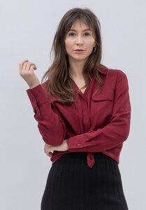 LOVJOI Damen Blouse FASALT Nachhaltig Fair - Lovjoi