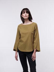3/4 Arm Bluse mit Streifen aus Bio-Baumwolle - LANIUS