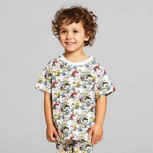 Kinder T-Shirt Hamra aus Biobaumwolle - Peanuts Allover Print - DEDICATED