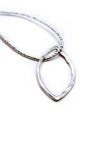 Silberanhänger Blatt 2cm - umiwi