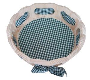 Brotkörbchen – Fichte – Größe: Ø 25 cm rund, 6,5 cm hoch - ReineNatur