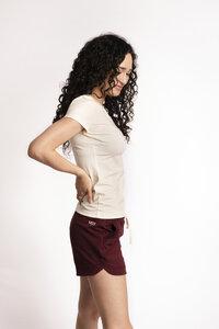 "Damen Shorts aus Bio-Baumwolle, Modell ""Chloé"" - M23"