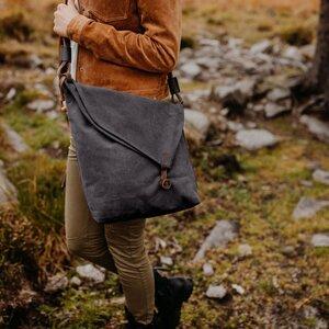 Tasche aus Bio-Baumwolle SMILLA - NORDLICHT