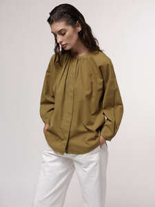 Bluse mit Streifen aus Bio-Baumwolle - LANIUS