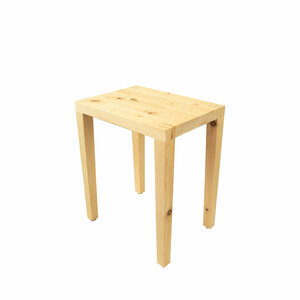 Massivholzhocker 'Tender' in verschiedenen Holzarten - Made in Südtirol - 4betterdays