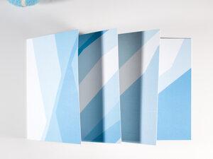 Kartenset • AIR (vier Karten mit Kuverts) - FINE colours