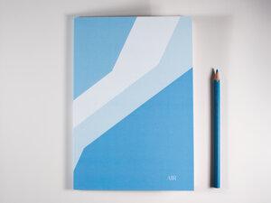 Notizbuch DIN A5 • AIR (mit Papier aus Pflanzenresten) - FINE colours