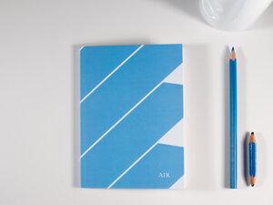 Notizbuch DIN A6 • AIR (mit Papier aus Pflanzenresten) - FINE colours