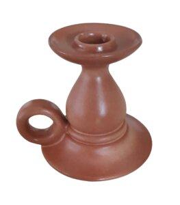 Kerzenständer aus Keramik - Höhe: 12 cm - ReineNatur