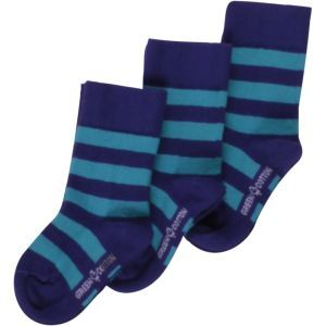 Ringel Socken Purple/Ocean GOTS - Fred's World by Green Cotton