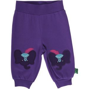 Sweat Fashion Pants Purple GOTS - Fred's World by Green Cotton