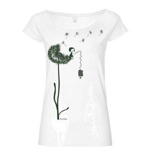 FellHerz Pusteblume BTD Raglan Damen T-Shirt White - FellHerz