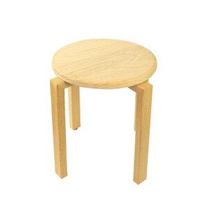Stapel Hocker 'Stack' aus Massivholz | in verschiedenen Holzarten - 4betterdays